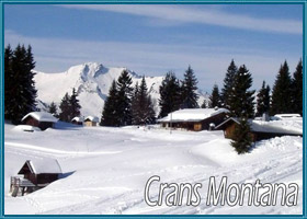 lastminutes booking to Crans-Montana