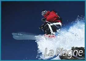 lastminutes booking to La Plagne