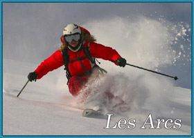 lastminutes booking to Les Arcs